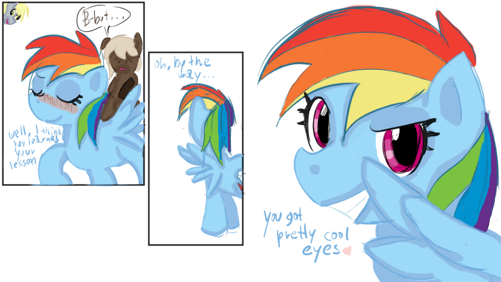 little my comics pony Once upon a forest michelle
