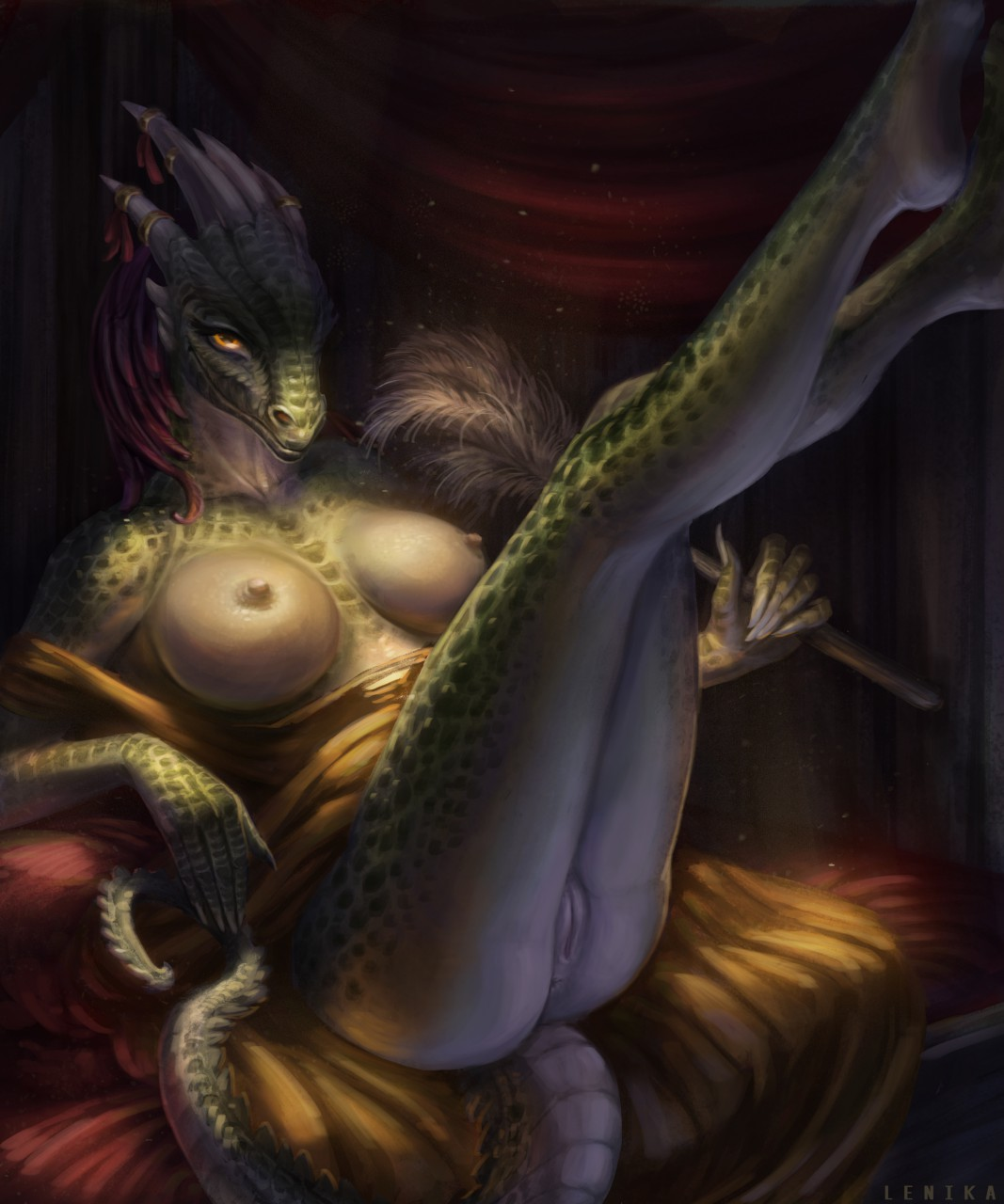 lusty argonian maid My time at portia glasses