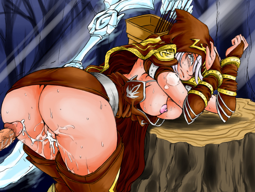 league hentai foundry legends of Chijoku no troll busters game