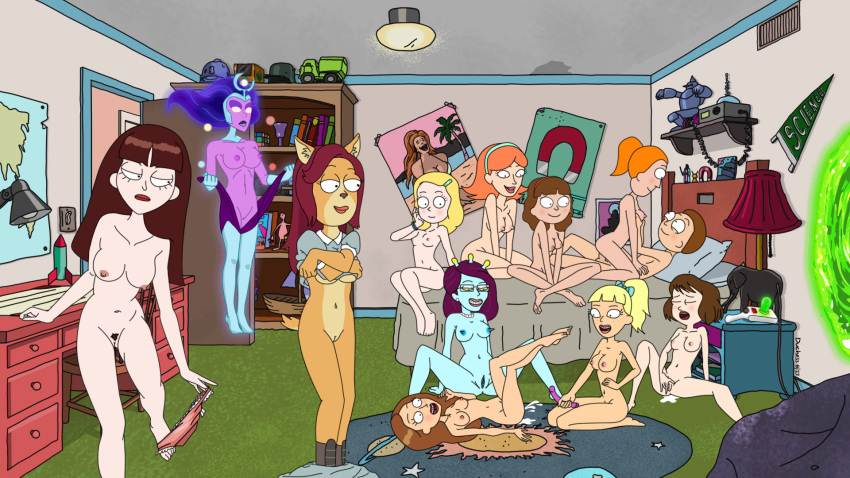 jessica rick naked morty and Ge hentai league of legends